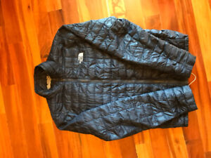 The North Face, Mens Thermoball Down Jacket, Navy Blue