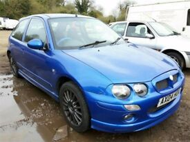 2004 MG ZR 160 NOW BREAKING FOR PARTS