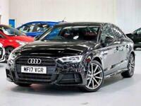 2017 Audi A3 1.4 TFSI S Line 4dr Saloon Petrol Manual