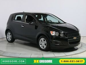 2012 Chevrolet Sonic LT A/C GR ELECT MAGS BLUETHOOT
