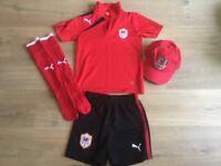 Cardiff City Away Training Kit