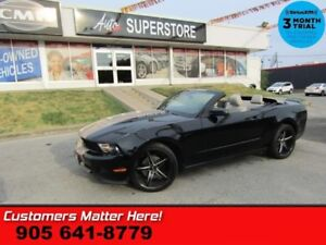 2012 Ford Mustang V6 Premium  LEATHER BGE-TOP PWR-SEAT PREM-ALLO