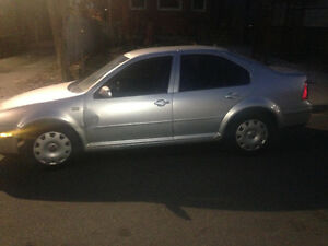 2002 Volkswagen Jetta 4door white Sedan