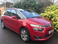CITROEN C4 GRAND PICASSO BLUEHDI VTR PLUS 2015 Diesel Automatic in Red