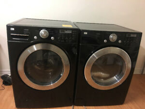 Lg glass frontload washer gas dryer stackable washing machine