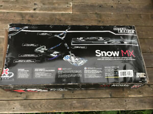Snow MX Outer Edge standing snow bike