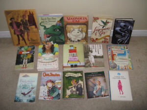 KIDS BOOKS: variety of chapter books lot of 15
