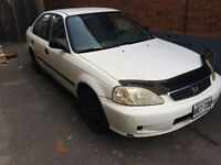 1999 Honda Civic Sedan for Parts