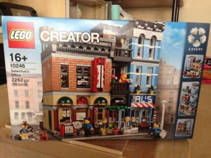 Lego 10246 Detective's Office BRAND NEW Sealed 20 OFF RRP