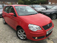 ✿58-Reg Volkswagen Polo 1.4 TDI Match, Red, Diesel ✿LOW MILEAGE ✿NICE EXAMPLE✿