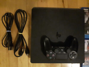 PS4 Slim -1 TB  FOR SALE/MINT CONDITION barely used.