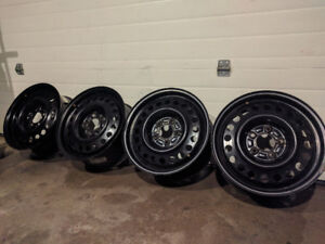 16x6.5 Winter Steel Rims 5x115 - 5x114.3