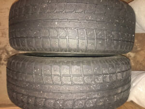 Winter Tires on Rims! $190 - excellent condition