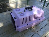 Small dog or cat pet carrier crate kennel
