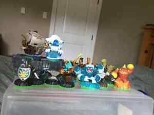 Excellent Conditon Skylander Game and Characters.