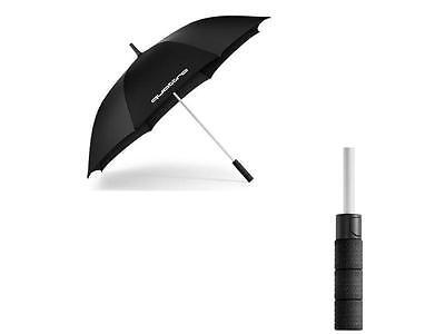 Genuine Audi Large Quattro black umbrella