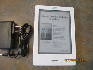 Kobo Touch eReader 2GB, Wi-Fi, White