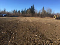 2.5 acre lot available for commercial storage near Anzac, AB