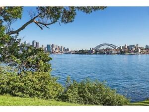 Harbourside 1 bedroom apartment - furnished or unfurnished, ferry Cremorne Point North Sydney Area Preview