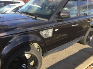 RANGE ROVER SPORT SUPERCHARGED 2010 510 Horse power black