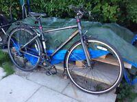 Hybrid commuting bike, Revolution Courier Race, 8 speed