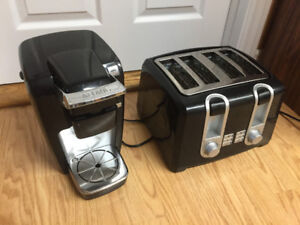 Keurig coffee maker & toaster