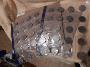 Silver Dollars 1968 to 1986 (made of nickel) 20 dollar coins
