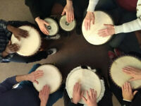 Drumming Circle Gathering