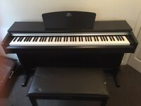 YAMAHA ARIUS ypd 141r digital piano, £400
