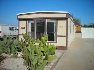 2br - 900ft2 - 2 BEDROOM MOBILE HOME in sunny YUMA AZ