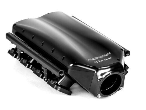 Ls3 Style Billet Inlet Manifold Black Rectangular Port