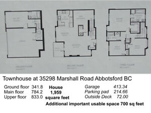 Contemporary Townhouse for sale $639,500.00