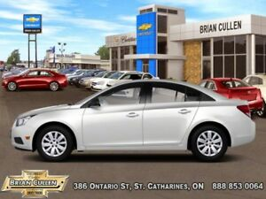 2012 Chevrolet Cruze LT TURBO+ W/1SB  - Low Mileage
