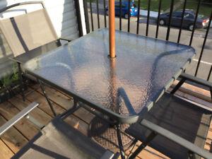 Set patio - 5 morceaux - prix réduit