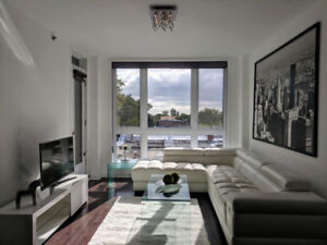 Luxury 2 bedroom fully furnished in NDG with indoor parking