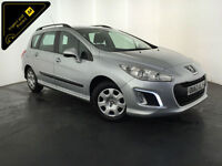 2013 63 PEUGEOT 308 ACCESS HDI DIESEL ESTATE 1 OWNER SERVICE HISTORY FINANCE PX