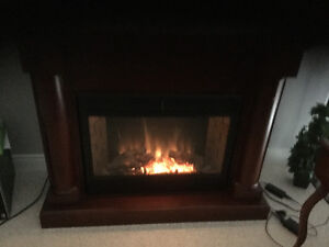 Electric fireplace $275.00