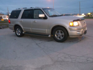 2006 Ford Expedition limited tv dvd 8 passagers