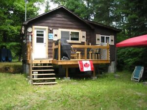 Camp on goulais river close to hwy.  17 north & stores