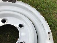"""Original Land Rover Defender Wolf wheels 16"""""""
