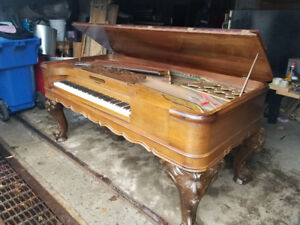 Hazelton Brothers Square Grand Piano 1870's