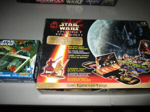 Star Wars game and puzzle