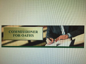 Commissioner of Oaths