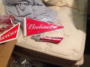 Budweiser/Budlight merch!!