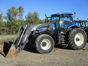 2007 T7030 New Holland 4wd Loader Tractor