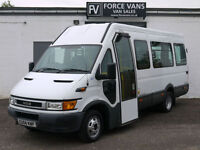 IVECO DAILY 45C13 EUROMOTIVE COACH MINIBUS CREW BAND MOTORHOME WELFARE VAN