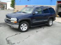 2003 CHEVROLET TAHOE L T -4X4  -5.3 V8 GAS -LOADED @ $7900