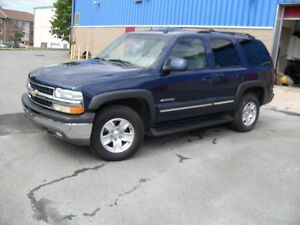 2003 CHEVROLET TAHOE L T -4X4-5.3GAS 7 SEATER @ $6900