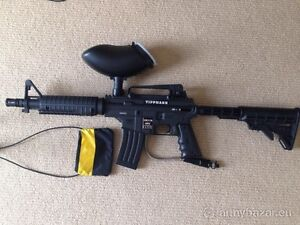 Tippmann bravo one with e trigger and apex barrel