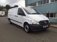 Own from £7.18 a day February 2013 Mercedes vito 113cdi extra lwb euro 5 £10995 J&FT&V